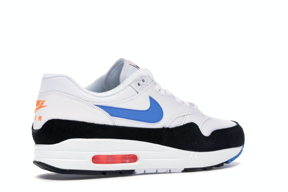 air max 1 blue orange black