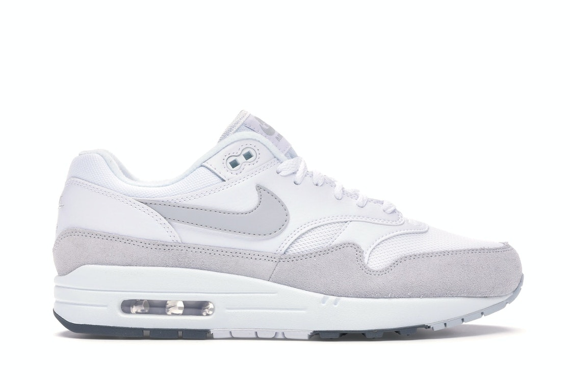 discount sale online retailer new arrival Air Max 1 White Pure Platinum