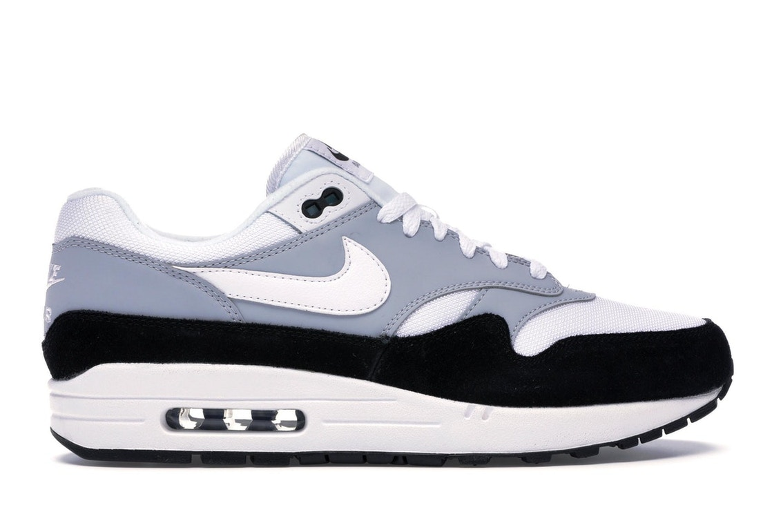 07d75037db790 Sell. or Ask. Size  9.5. View All Bids. Air Max 1 Wolf Grey Black