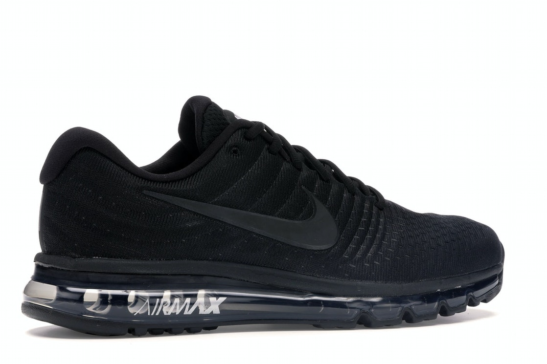 sports shoes 42d0b 76cbf Air Max 2017 Triple Black