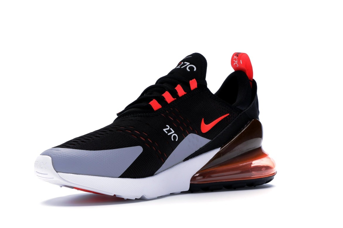 Air Max 270 Black Bright Crimson