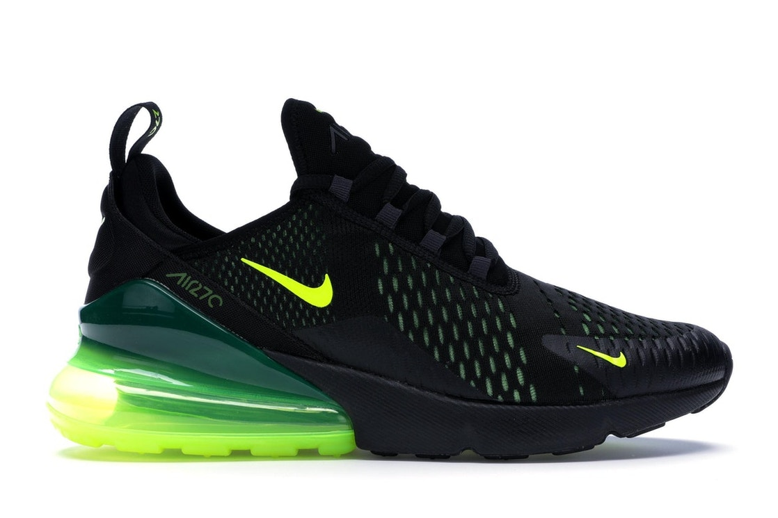 best sneakers bda06 f9798 Air Max 270 Black Volt Oil Grey
