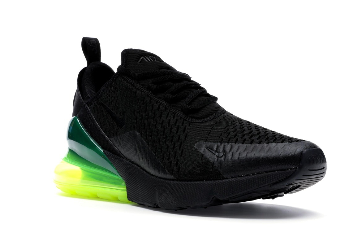 Shop Nike Air Max 270 AH8050 011 BlackNeon Green