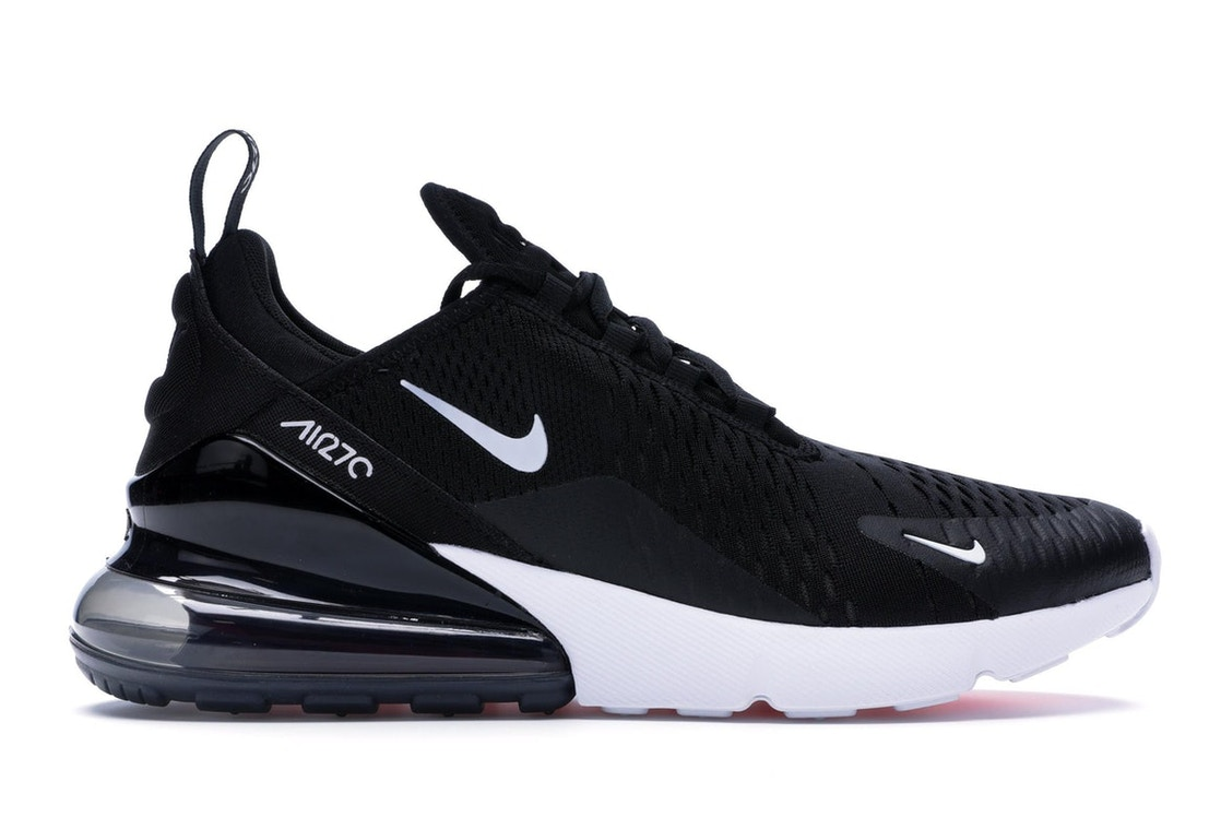 low priced a48b6 17ba8 Air Max 270 Black White