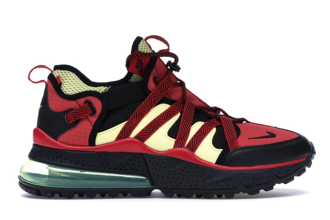sneakers for cheap db790 d28e7 Air Max 270 Bowfin University Red Light Citron