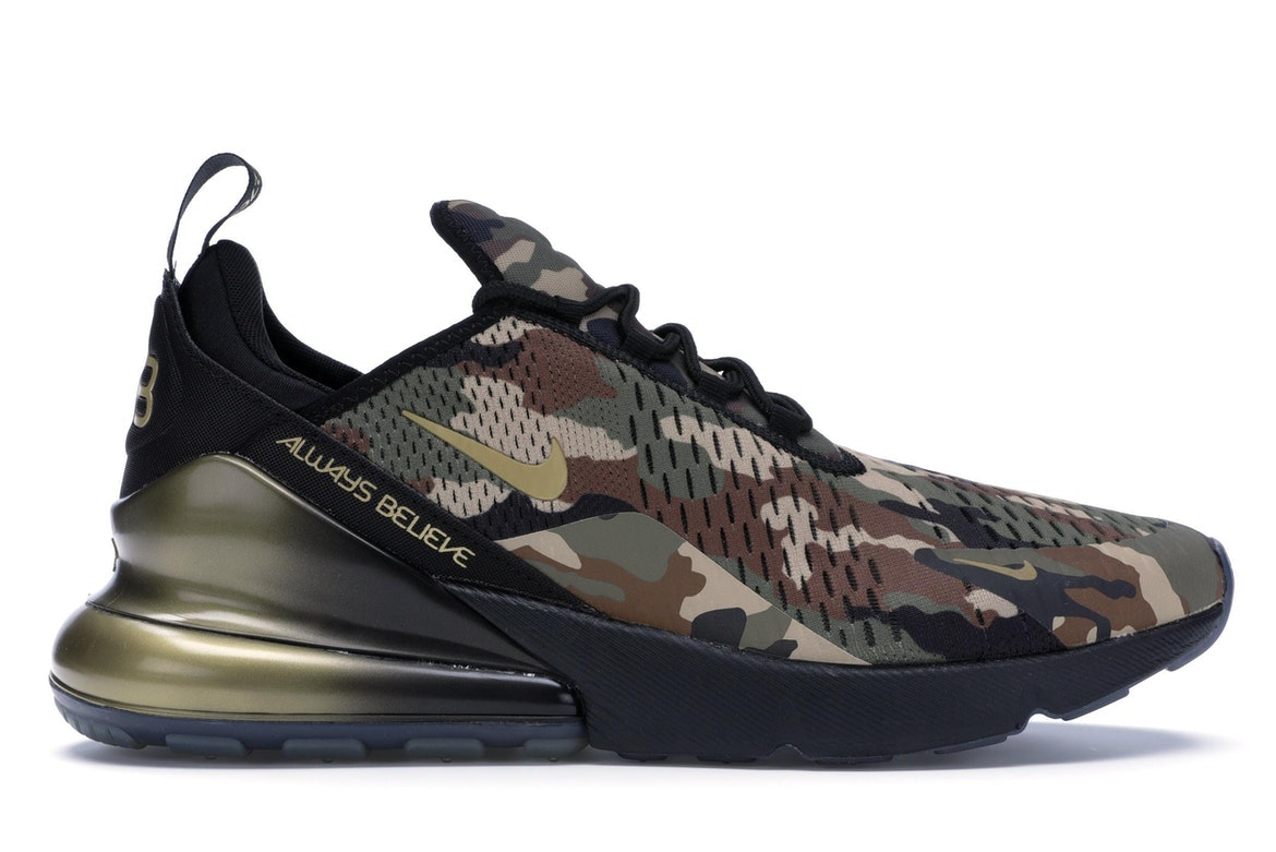 Nike Air Max 270 Doernbecher BV7112 001 Shoes Green