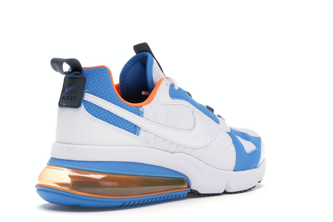 Nike AIR MAX 270 Futura WHITEWHITE TOTAL ORANGE BLUE HERO