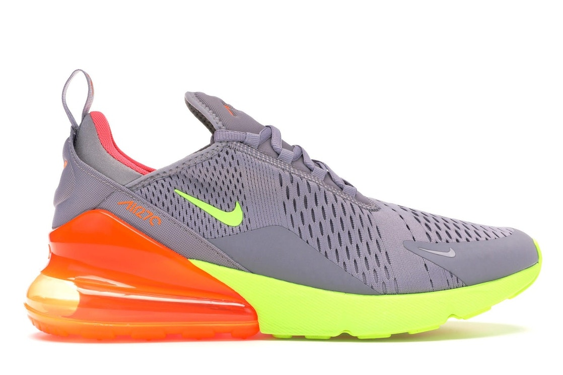 sports shoes 62836 d5d08 Air Max 270 Grey Volt Orange