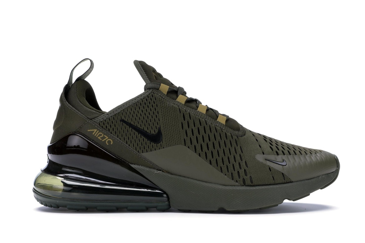 Nike Air Max 270 canvas sneakers Black