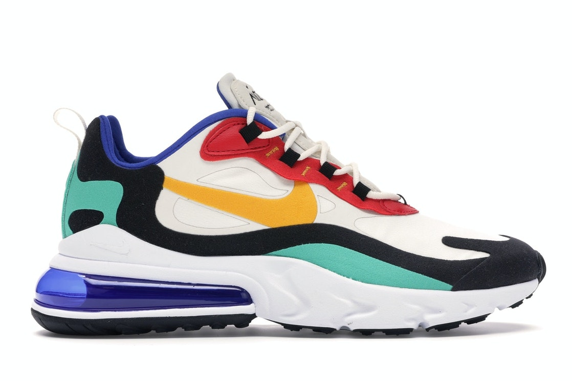 info for 16c7c 7d031 Air Max 270 React Bauhaus