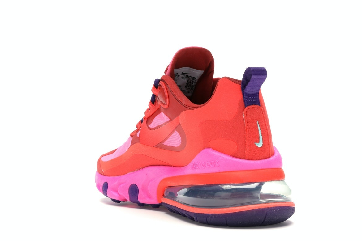 air max 270 react mystic red bright crimson pink blast