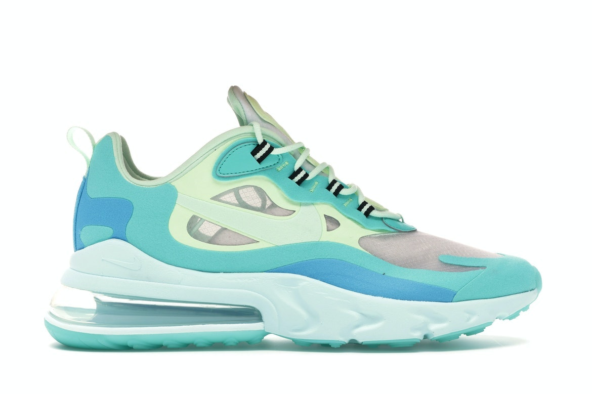 nike AIR MAX 270 REACT HYPER JADEFROSTED SPRUCE BARELY VOLT
