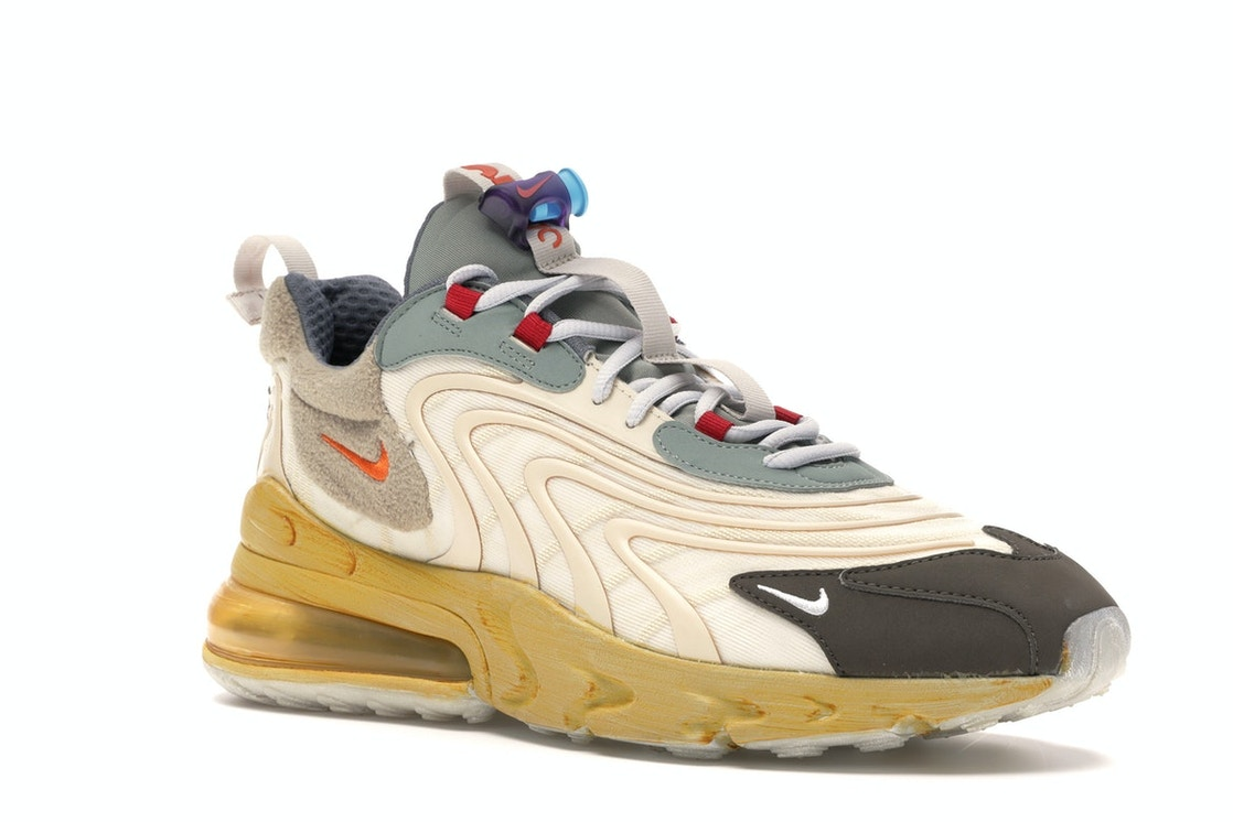 censura Destello Sábana  Nike Air Max 270 React ENG Travis Scott Cactus Trails - CT2864-200