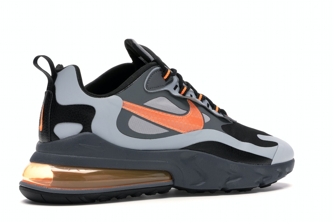 Ceder el paso Definir arrebatar  Nike Air Max 270 React Winter Wolf Grey Total Orange - CD2049-006