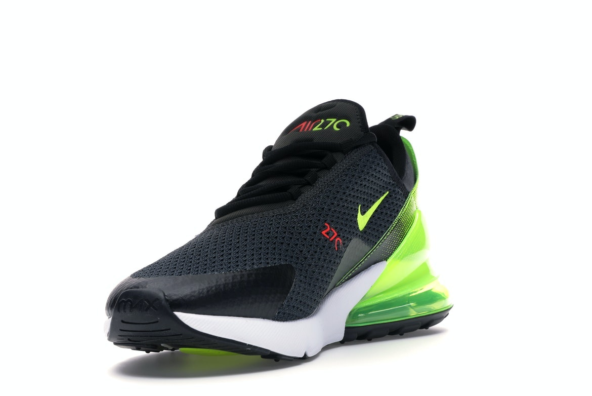 Nike Air Max 270 Retro Future trainers in black and green