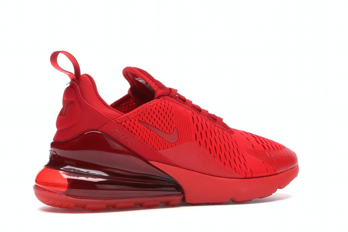 Obstinado Evolucionar casado  Nike Air Max 270 Triple Red - CV7544-600