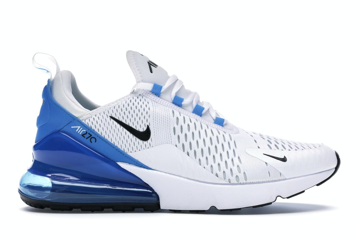 nike air max 270 white white photo blue