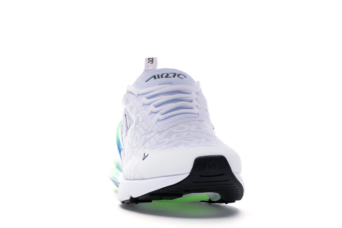 Size 12 Men's Nike Air Max 270 SE White Blast Aq9164 100 Casual Running Shoes