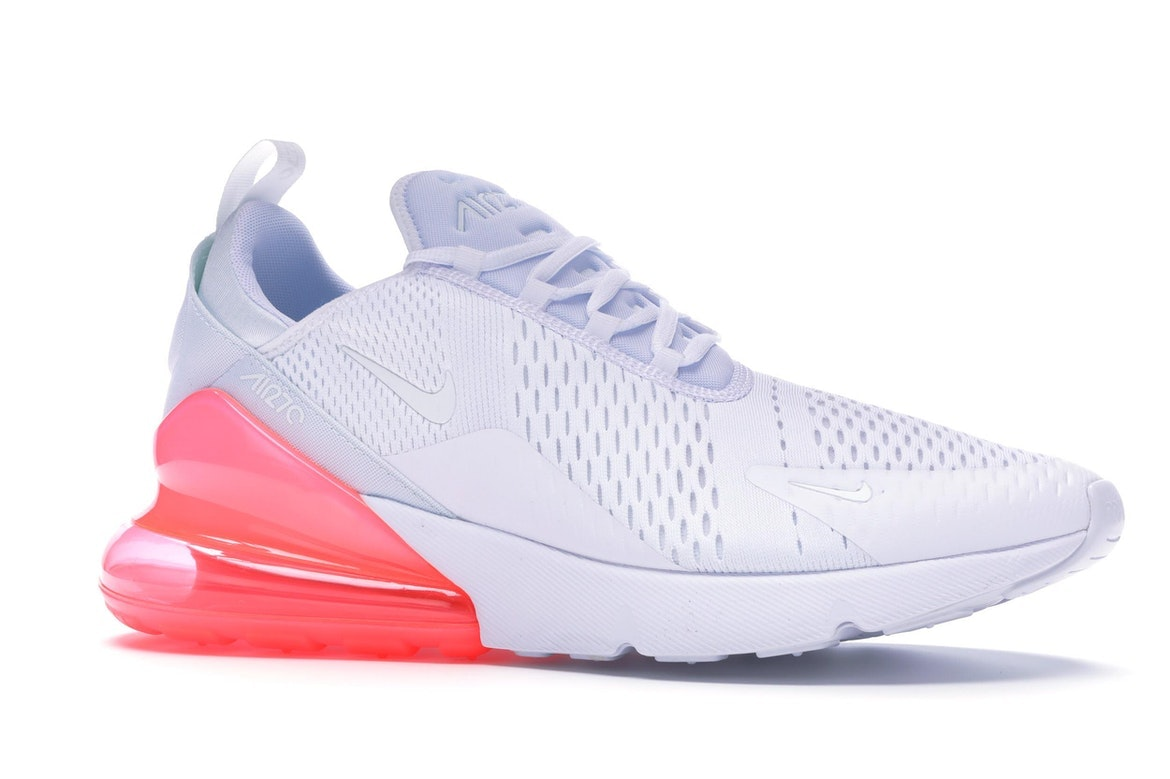 Nike Air Max 270 White Pack (Hot Punch)