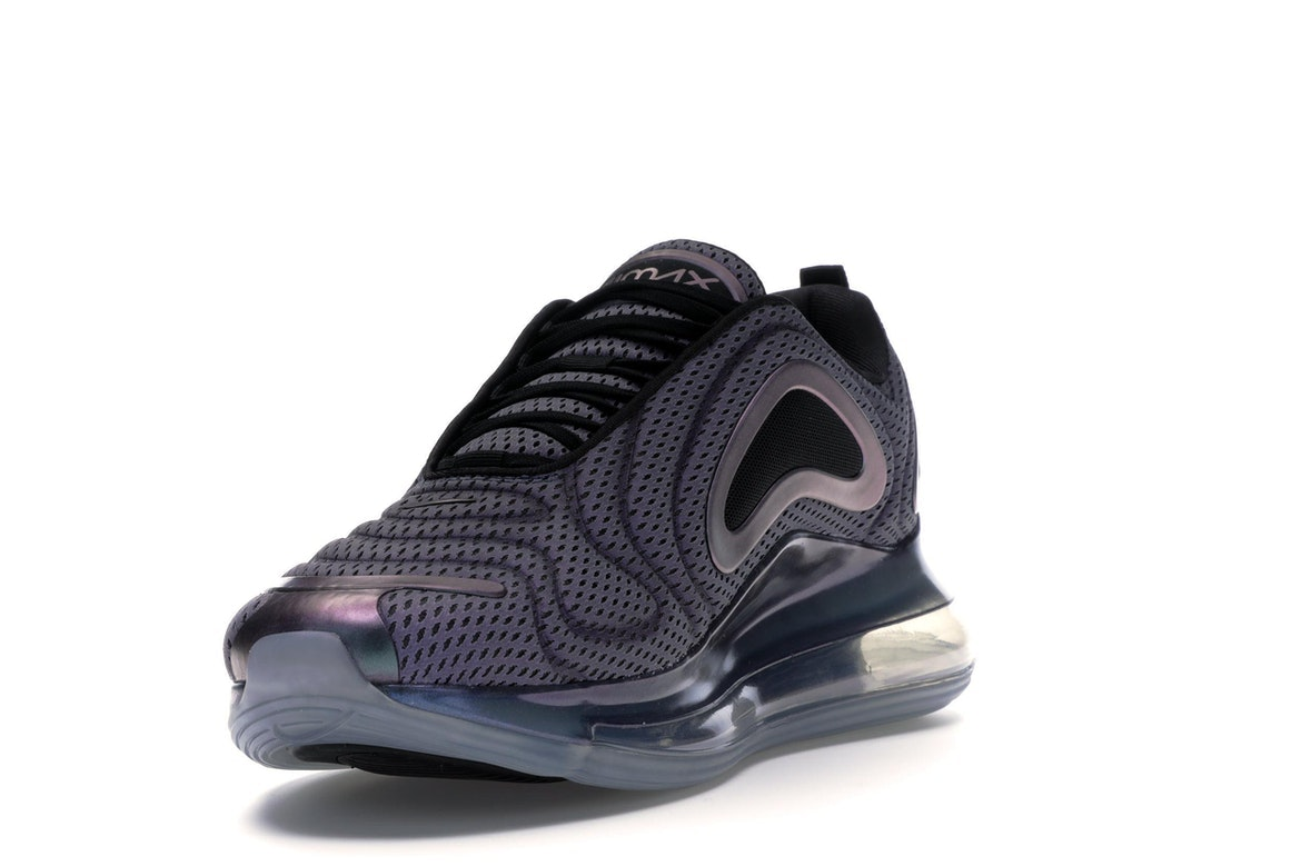 Nike Air Max 720 Black Metallic Silver AO2924 001 Release