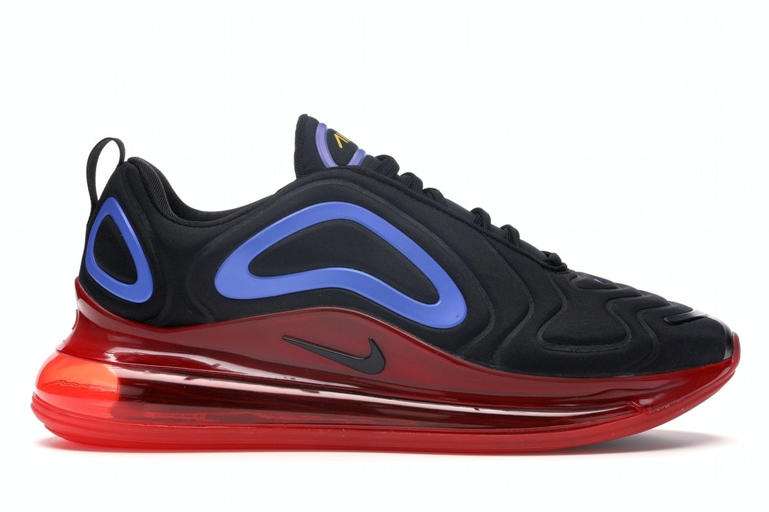 Autor Legado Vulgaridad  Nike Air Max 720 Black Blue Red - AO2924-014