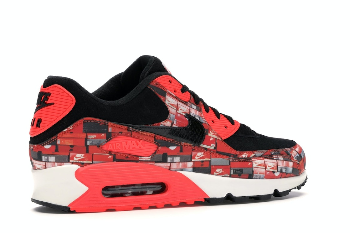 quality design 2474a 28018 Air Max 90 Atmos We Love Nike (Bright Crimson) - AQ0926-001