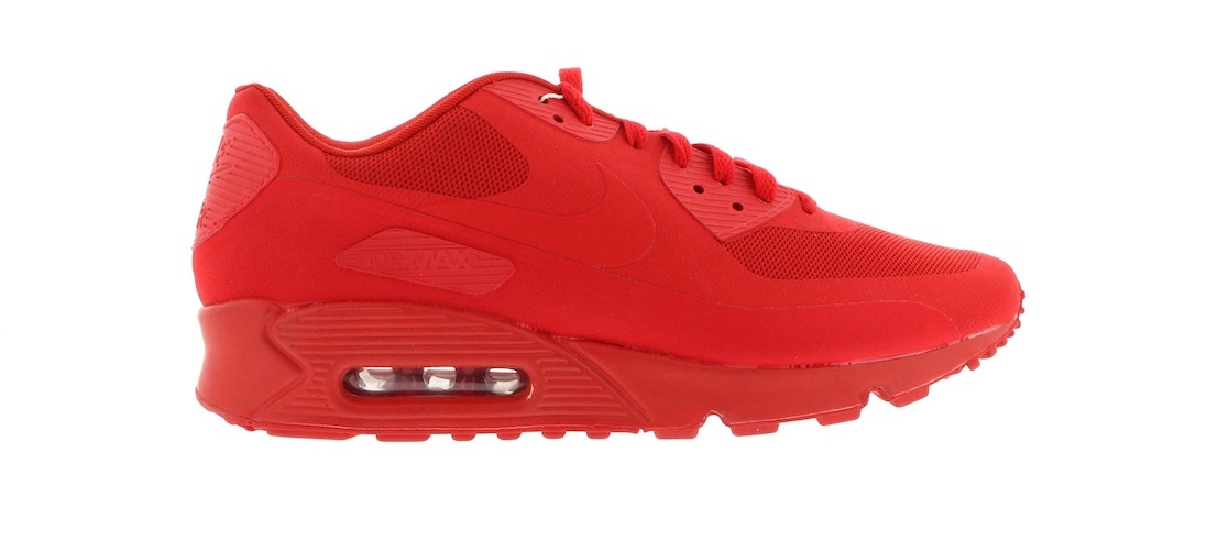 official photos 5b2e4 1cc84 Nike Air Max 90 Hyperfuse Solar Red Air Max 90 Hyperfuse Independence Day  Red ...