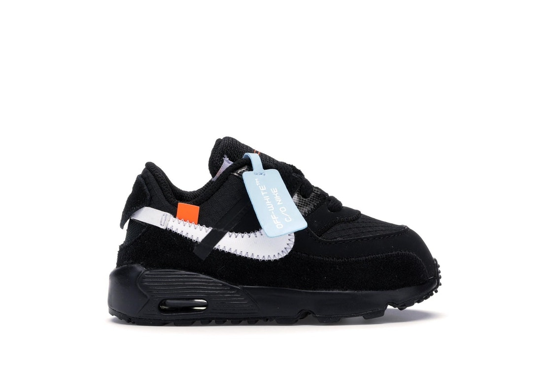 low cost 6faf1 7069d Air Max 90 OFF-WHITE Black White (TD)