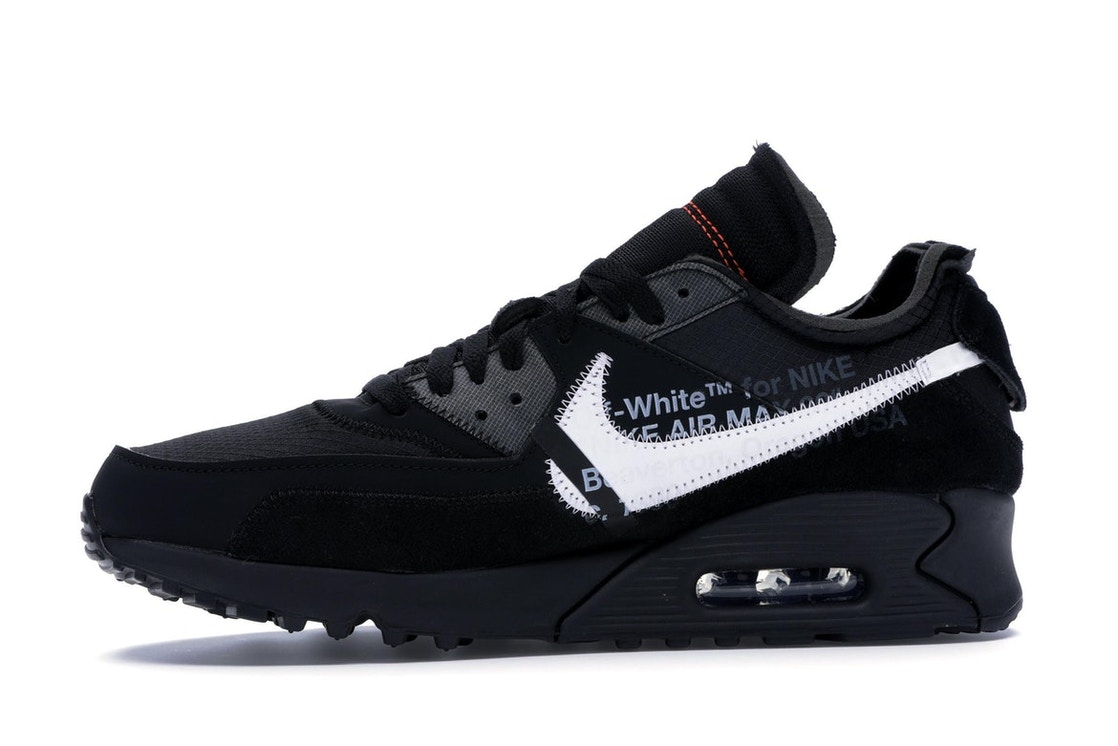 outlet store 94972 7b5ff Air Max 90 OFF-WHITE Black - AA7293-001