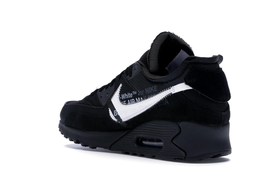 new product 1adcf 9ca24 Air Max 90 OFF-WHITE Black