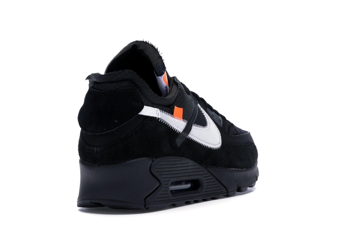 Nike The Ten: Air Max 90 x Off White AA7293 002 On Sale