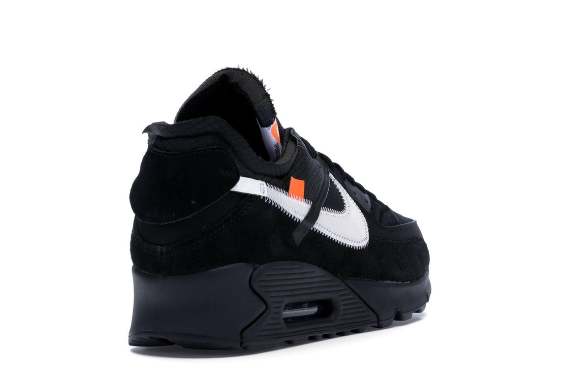 outlet store a1fd3 3376b Air Max 90 OFF-WHITE Black - AA7293-001