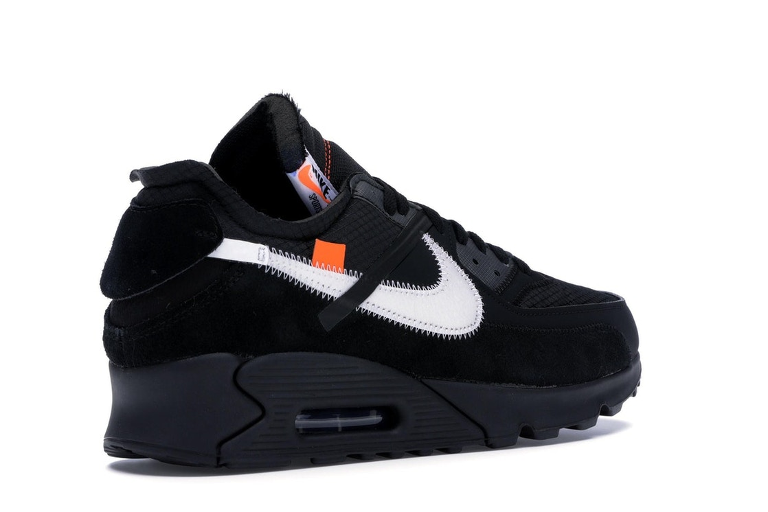 outlet store 994fe 9e36d Air Max 90 OFF-WHITE Black - AA7293-001
