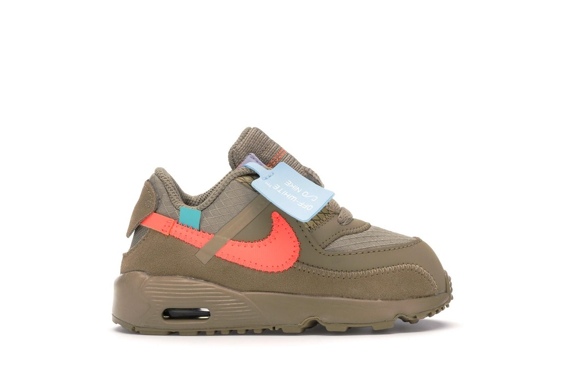 8947485570e Sell. or Ask. Size  10. View All Bids. Air Max 90 OFF-WHITE Desert Ore ...