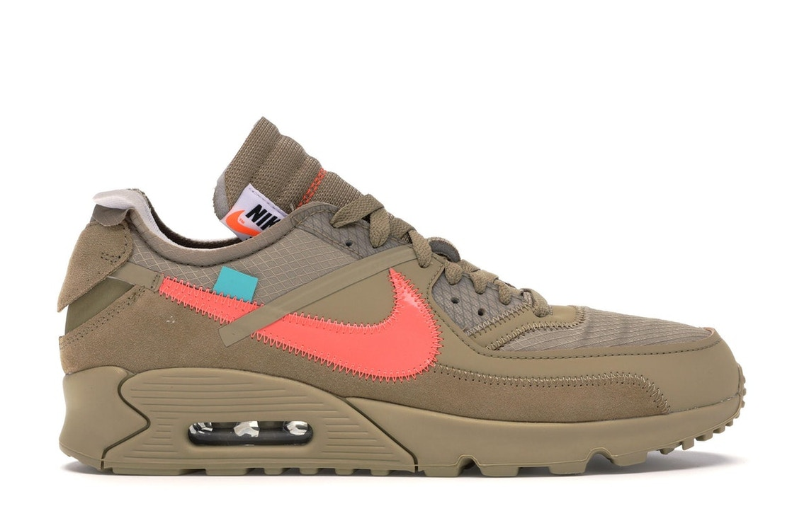 0a3ffc2ed Air Max 90 OFF-WHITE Desert Ore - AA7293-200