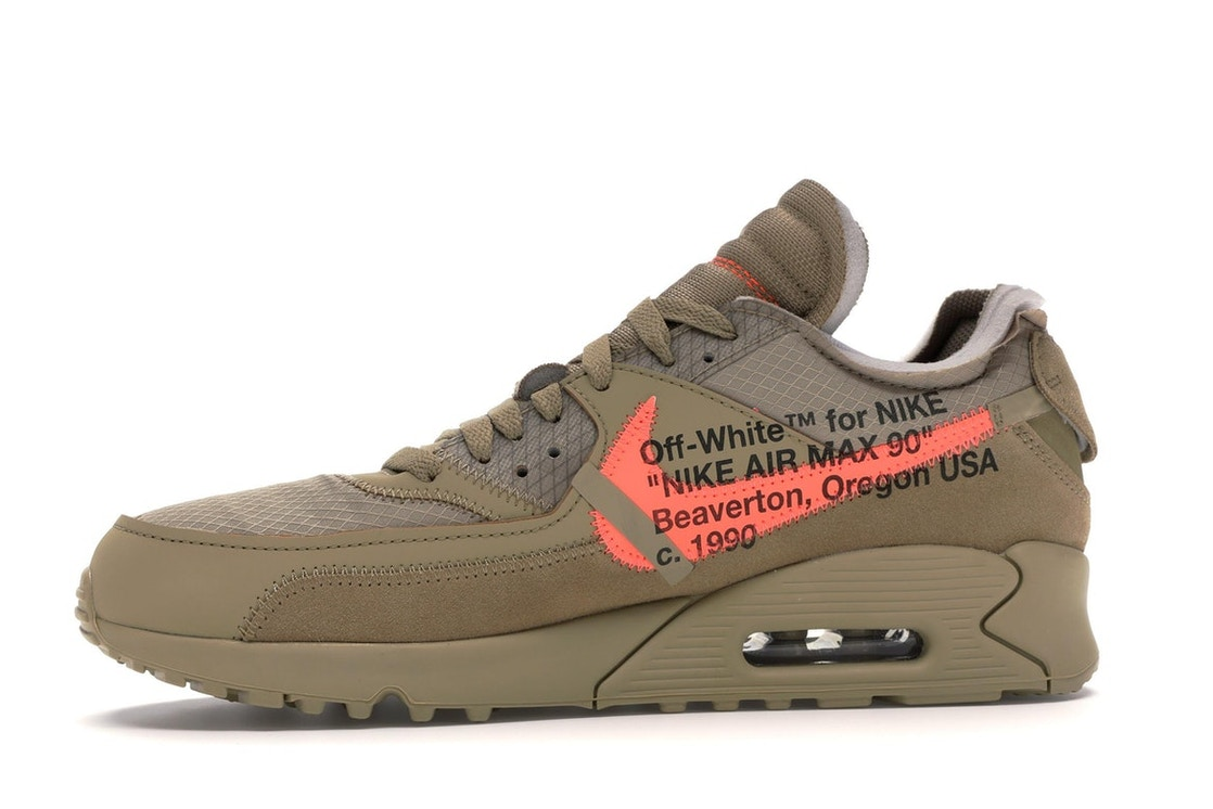 quality design 40125 26a50 Air Max 90 OFF-WHITE Desert Ore - AA7293-200