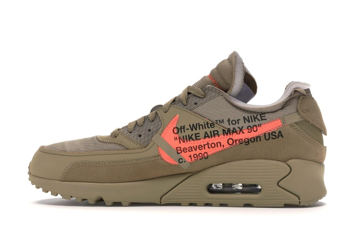 check out af9f9 29799 Air Max 90 OFF-WHITE Desert Ore