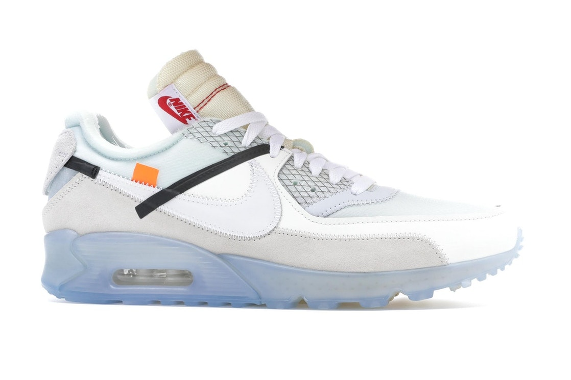 buy cheap new photos 2018 sneakers Nike Air Max 90 OFF-WHITE - AA7293-100