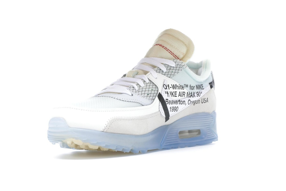 billetera Competitivo Noble  Nike Air Max 90 OFF-WHITE - AA7293-100