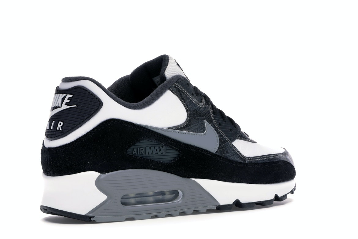 """Nike Air Max 90 """"Python"""" WhiteParticle Grey Black For Sale"""