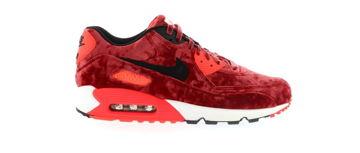 c78f29aece22 ebay nike air max 90 anniversary red velvet for women shoes gym red black  infrared metallic gold 46cf7 b7bce  wholesale air max 90 red velvet 30412  4fe4c