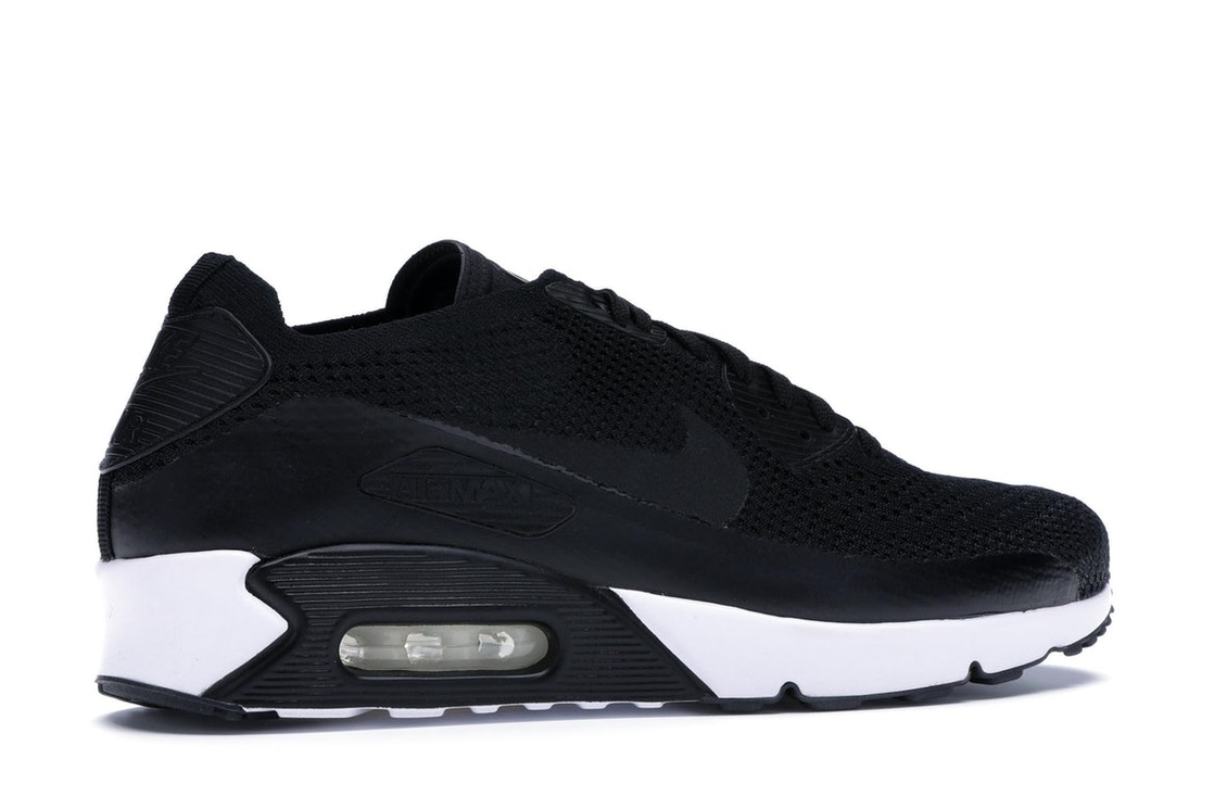 super popular a1bb6 1a34a Air Max 90 Ultra Flyknit 2.0 Black