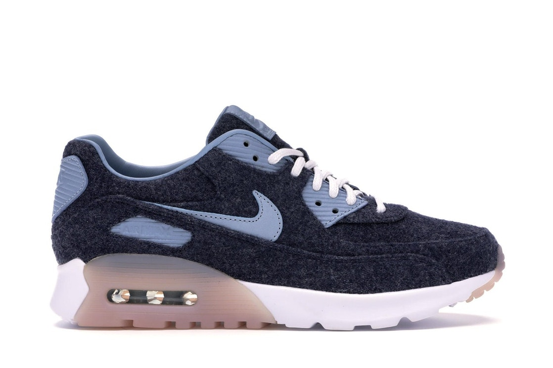 buy popular 48b48 64452 Sell. or Ask. Size --. View All Bids. Nike Air Max 90 Ultra Premium  Midnight Navy Blue Grey-White ...