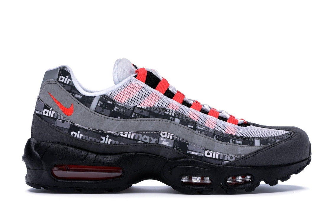 new products cf164 761c6 Air Max 95 Atmos We Love Nike (Bright Crimson)