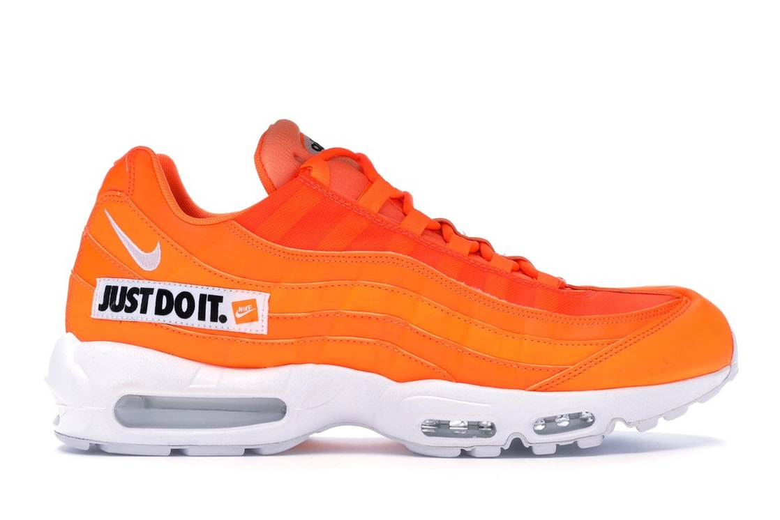 newest 21377 722d7 Air Max 95 Just Do It Pack Orange