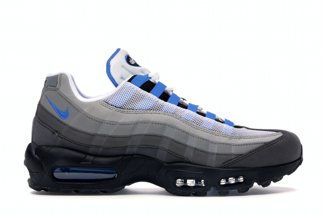 new styles e2357 56fe7 Air Max 95 OG Crystal Blue - AT8696-100 nike air max 95 og white