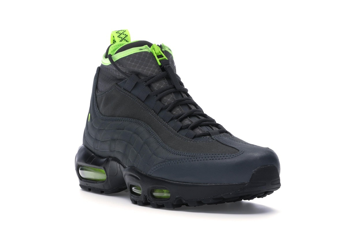 Nike Air Max 95 SneakerBoot AnthraciteVolt Dark Grey Men's Shoes 806809 003 Size 7.5
