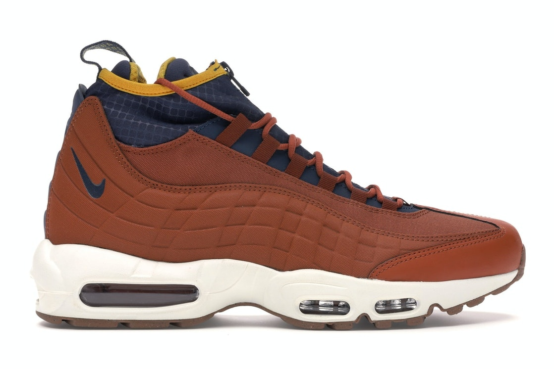 half off 56deb c0cc4 Air Max 95 Sneakerboot Dark Russet Thunder Blue