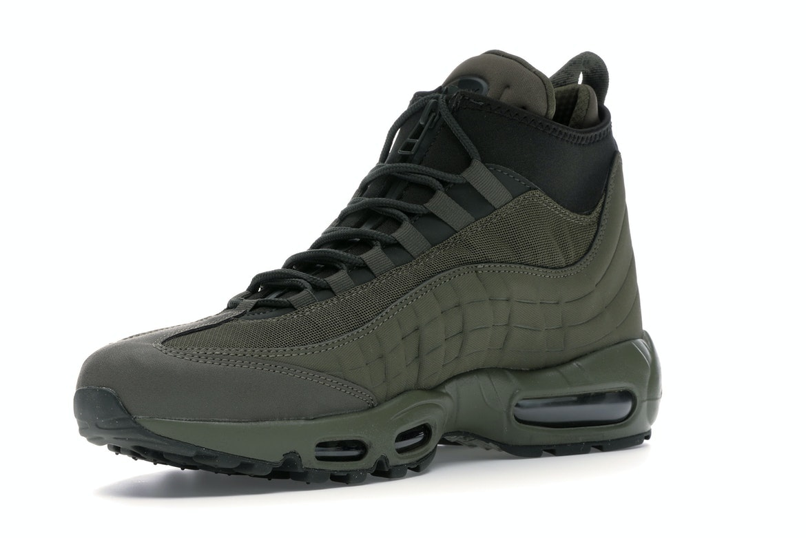 6.5 US Men Nike Air Max 95 SneakerBoot Medium Olive