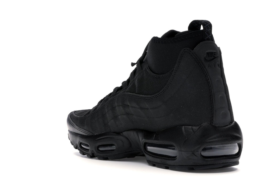 bf7339bccb Air Max 95 Sneakerboot Triple Black - 806809-002